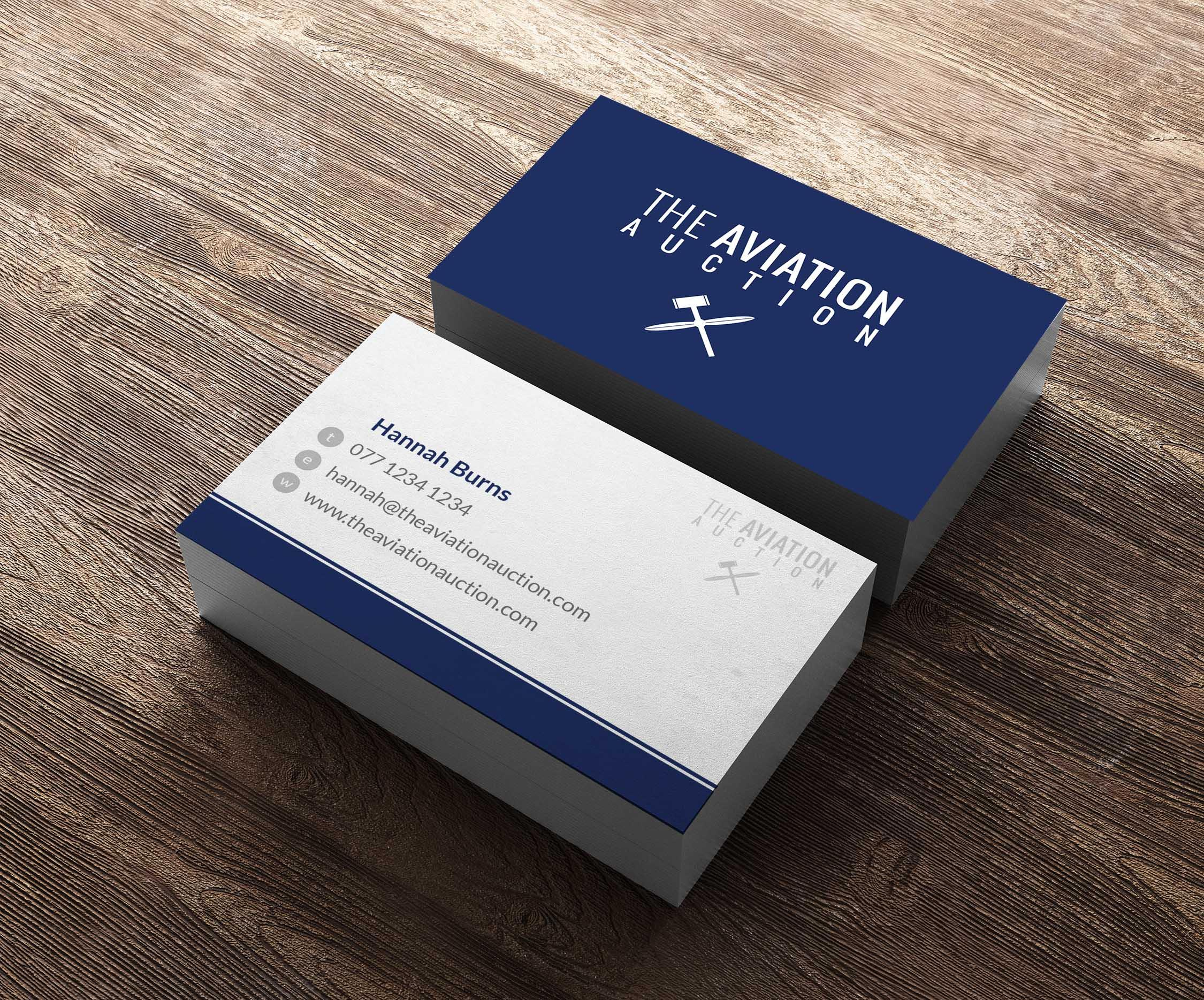 Web Design Cardiff - Business Card & Stationary