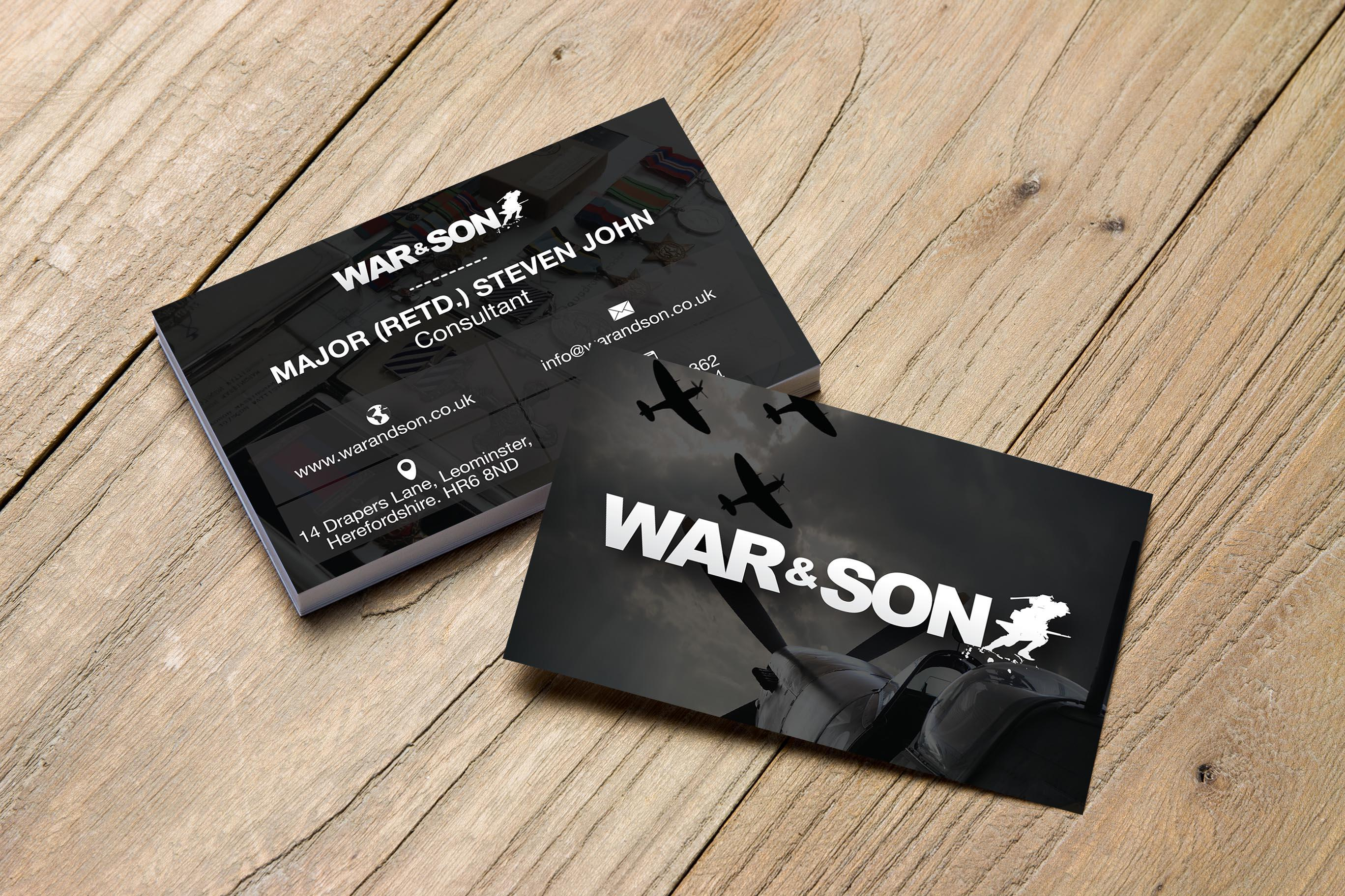 Web Design Cardiff - Business Card