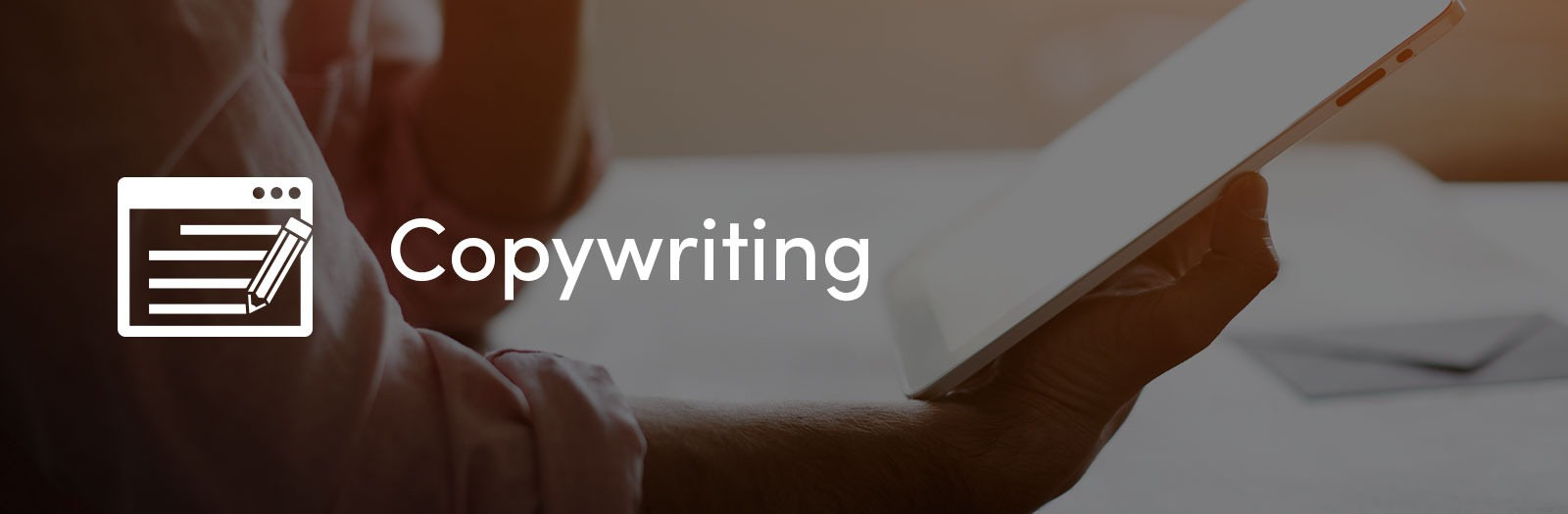 Copywriting for websites cardiff