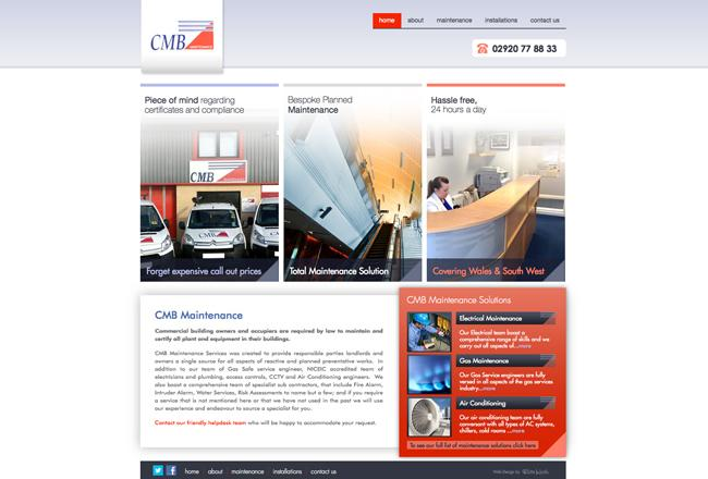 building-maintenance-website-design