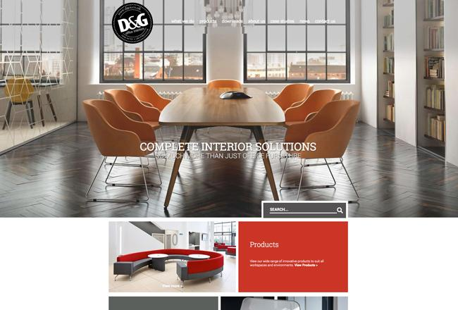 company office web design - Interior Web Design