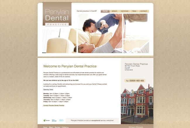 dental-practice-website-designer