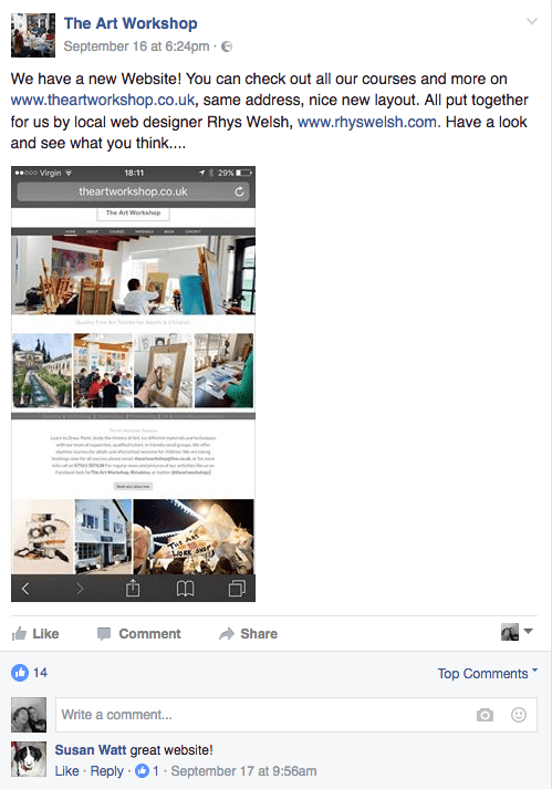 facebook-review-client-rhiwbina