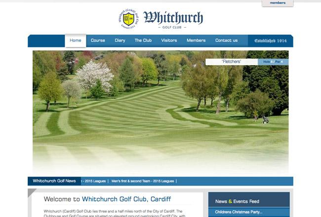 golf-club-website-designer-cardiff
