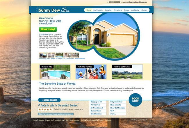 holiday-villa-website-design