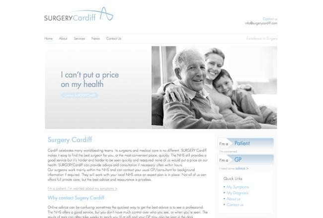 medical-health-website-design-cardiff
