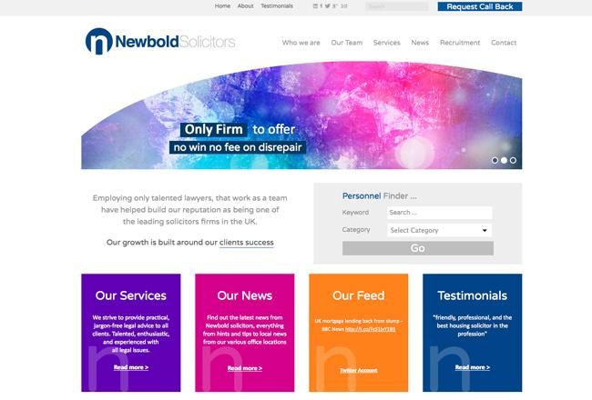 solicitors-web-site-project