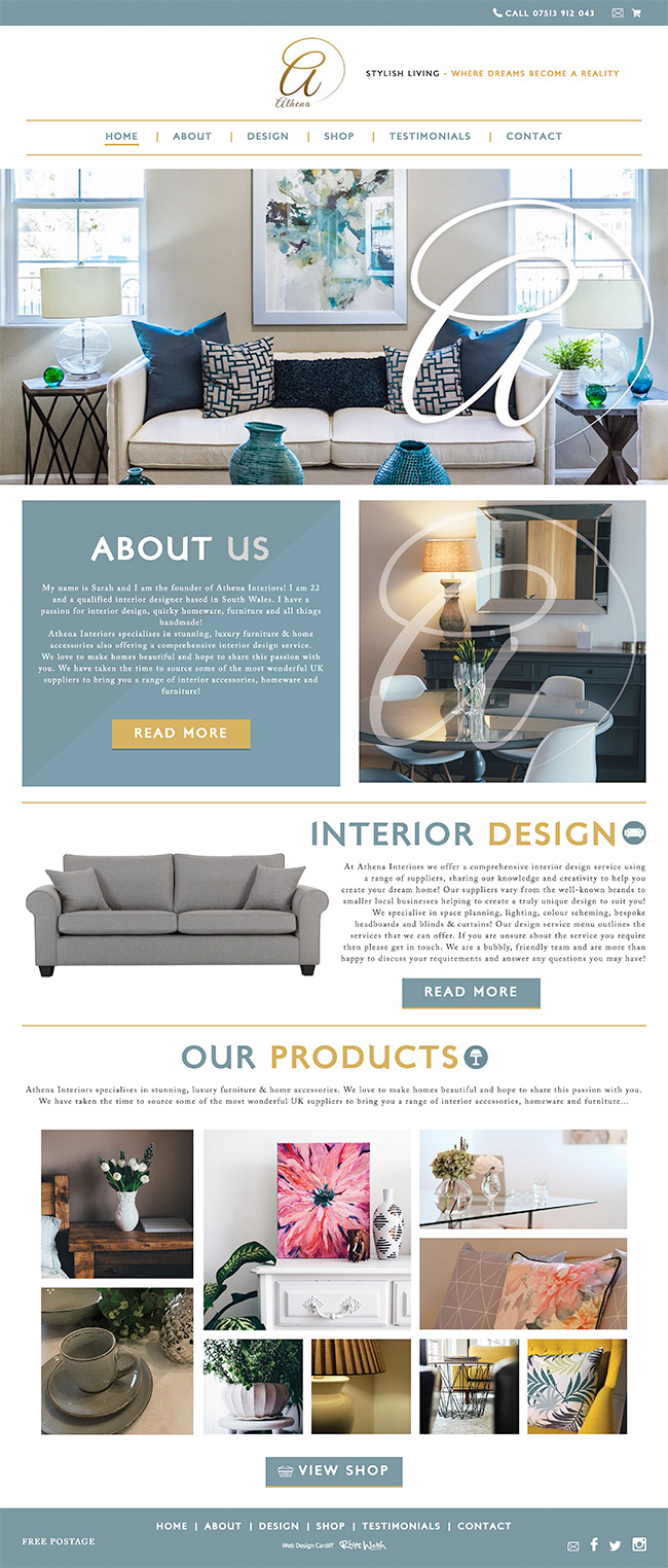 interior design website - Interior Web Design