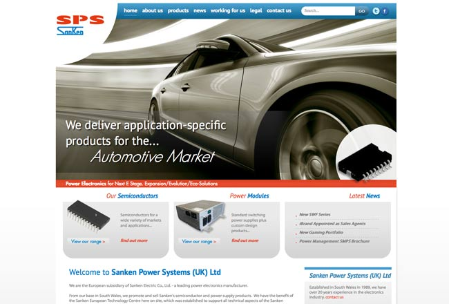 electronics-web-design-bridgend