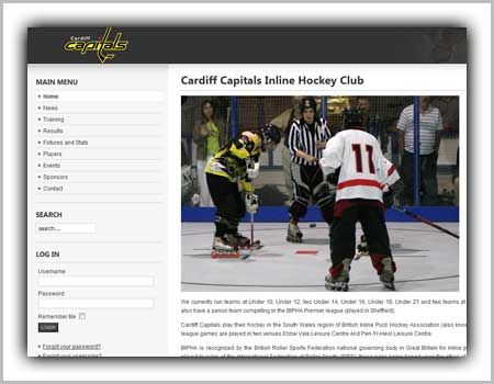 cardiff-sport-hockey-web-design