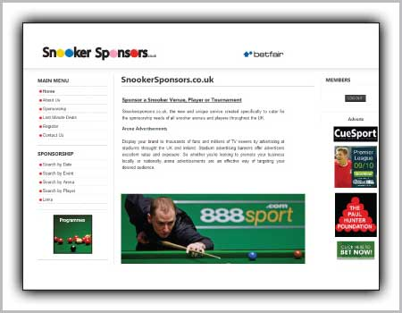 cardiff-sport-snooker-web-design