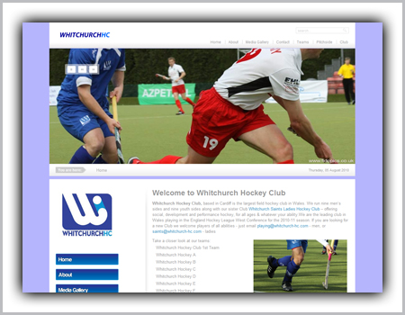 cardiff-whitchurch-hockey-web-design