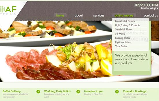 web-design-in-cardiff-catering-6