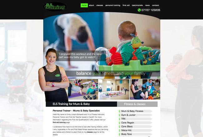 website-fitness-designer